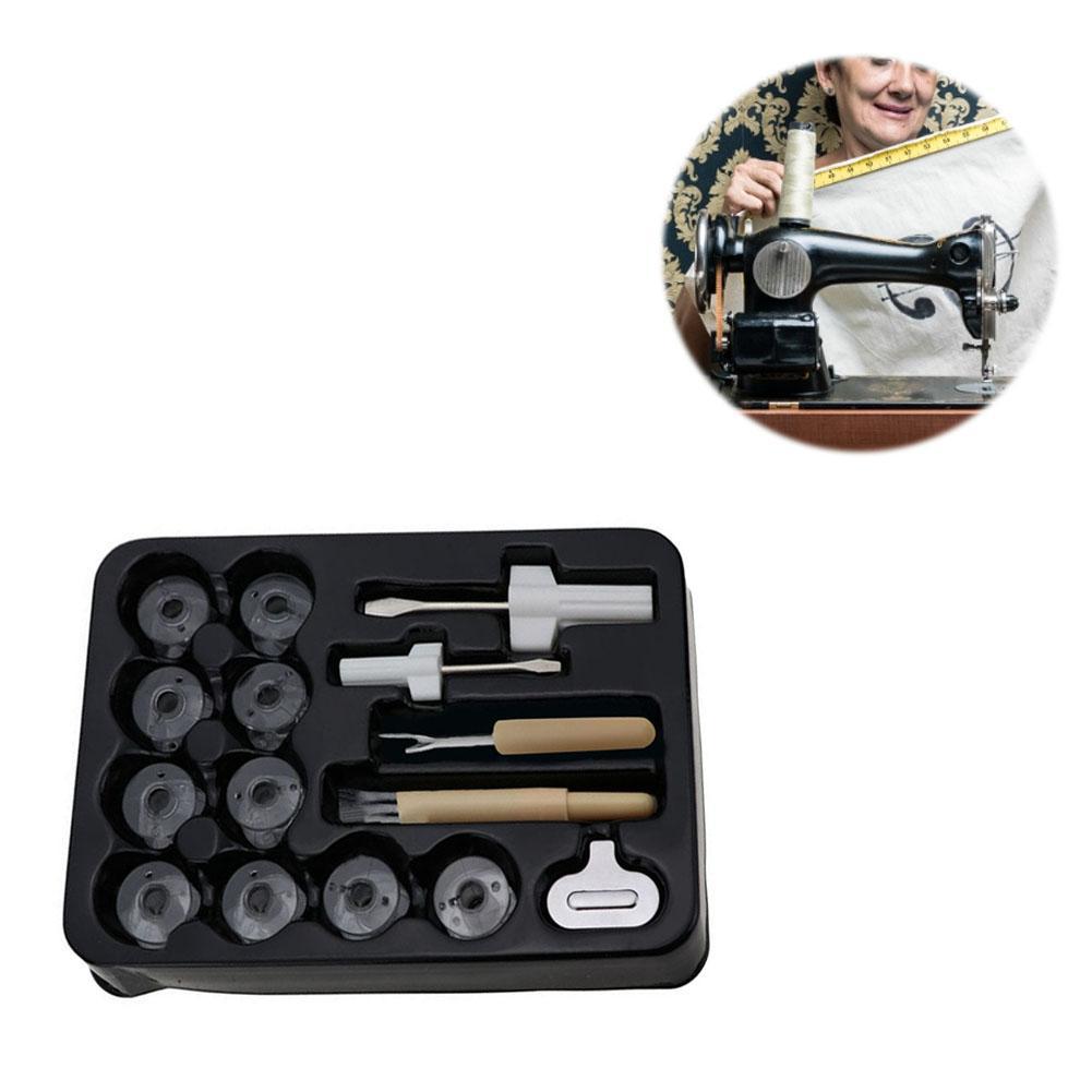Elastic Fabric Anti-Jump Machine Needle Threader Insertion Tool Applicator C