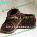 baby booties boots girl boy crochet booty crocheted knitted infant knit shoes boots