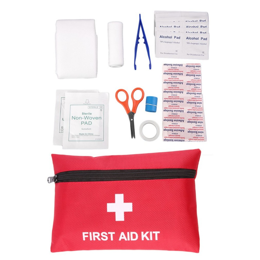 1pc 12Types Camping Emergency Survival Tools All In One Tool First Aid Kit Wholesales