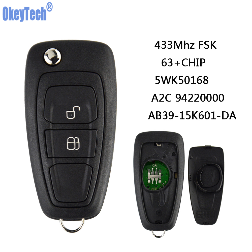 OEM Keyless Entry Replacement 3 Button Remote Flip Key Fob  2 CX-7 CX5