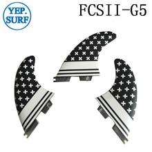 FCS2 G5 surfboard fins Fibreglass Honeycomb FCSII M size Fin