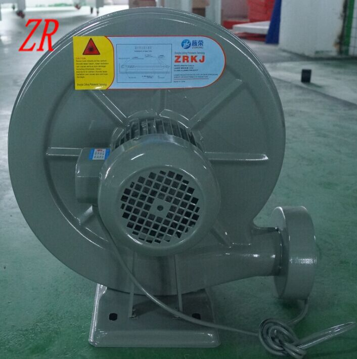 750W Exhaust FAN Air Blower Centrifugal for laser engraving machine fan 220V ZuRong Exhaust FAN