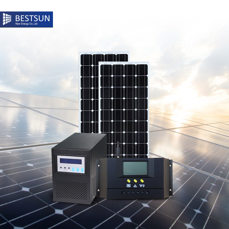 300w 3KW solar power generator system kit newest product ...