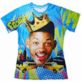 Summer Style So Fresh Will Smith T-Shirt tee Fresh Prince of Bel Air 3d casual Short sleeve t shirt for Women Men Free shipping