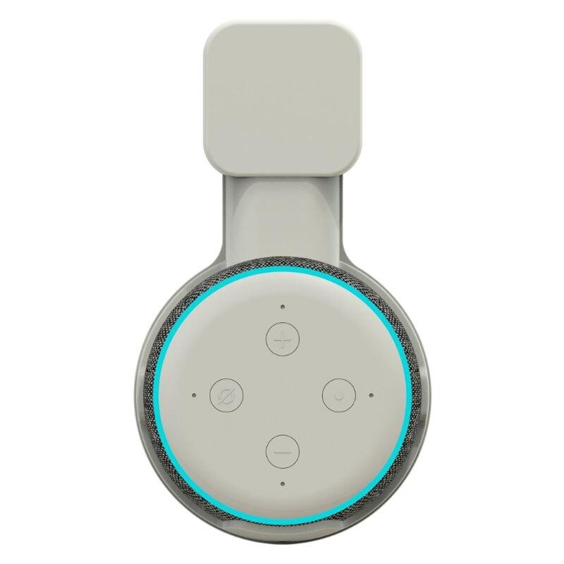 Кухня Ванная комната спальня розетка настенный держатель Стенд кронштейн для Amazon Echo Dot 3-го поколения