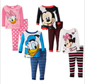 2014 New children pajama sets girls boys clothing sets soft ness kids pajama sets cute confortable pajamas kids