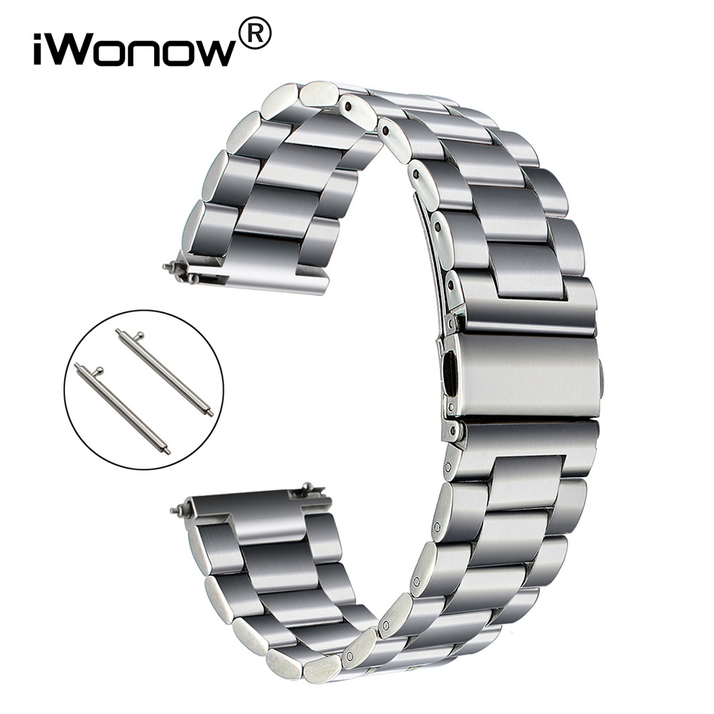 Quick Release Stainless Steel Watchband For Fossil Diesel DZ Men Women Watch Band Wrist Strap Bracelet 18mm 20mm 22mm 23mm 24mm