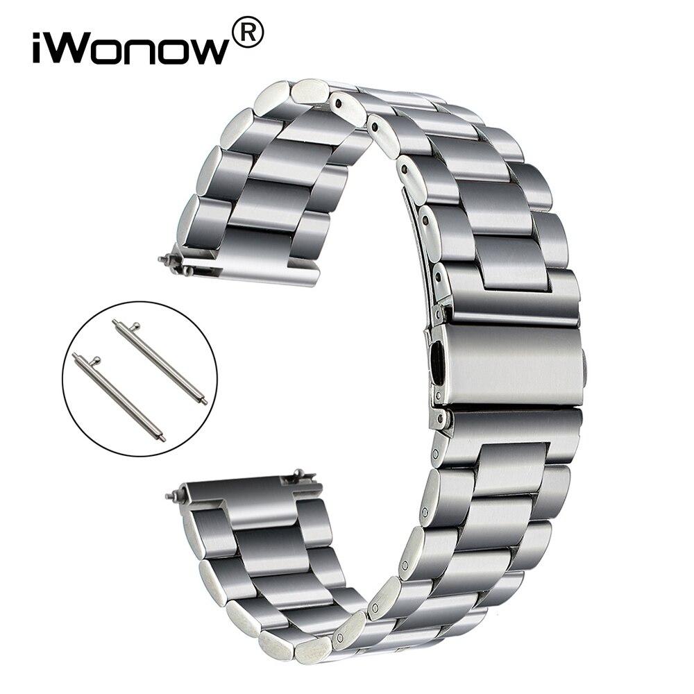Quick Release Stainless Steel Watchband +Tool for Fossil Diesel DZ Men Women Watch Band Wrist Strap Bracelet 18mm 20mm 22mm 23mm