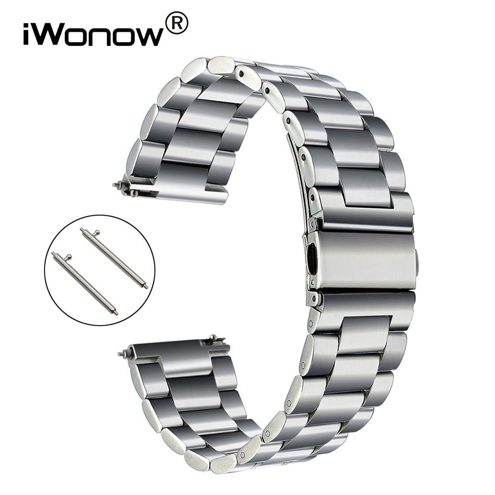 Quick Release Stainless Steel Watchband for Fossil Diesel DZ Men Women Watch Band Wrist Strap Bracelet 18mm 20mm 22mm 23mm 24mm