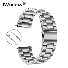 Quick Release Stainless Steel Watchband for Fossil Diesel DZ Men Women