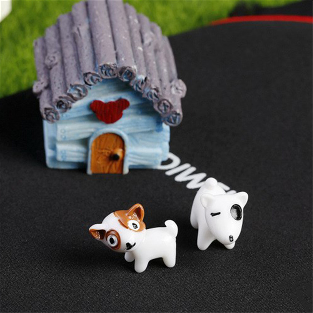 Accessories 3pcs Miniature Fairy Garden Ornament Decor Animal Craft Cake DIY