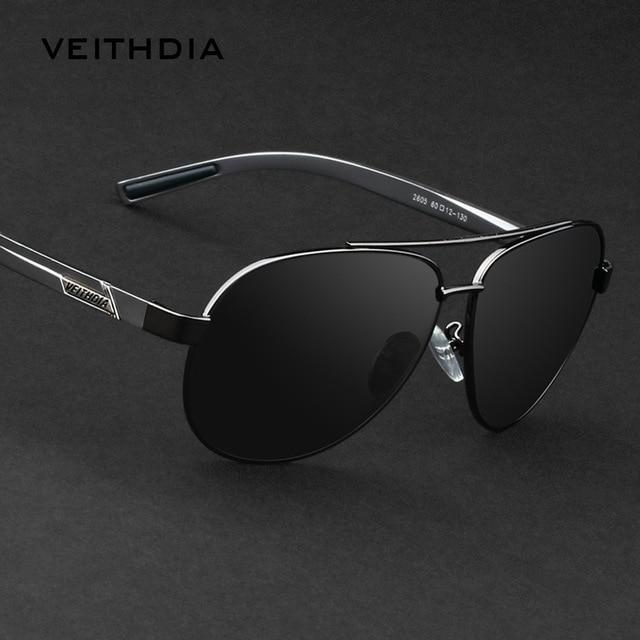 VEITHDIA 2605 Polarized Sunglasses For Driving Car Sports Men Fishing UV400 Male Famous Brand Men's Sun Glasses