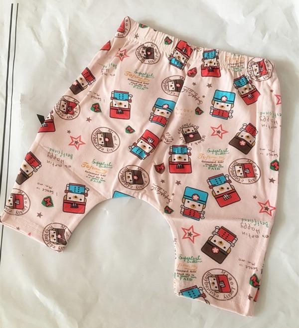 (1 Stuk/partij) 100% Katoen 2018 Nieuwe Roze Korte Broek Voor Baby Jongen En Meisje 80.90.100cm Tegen Elke Prijs