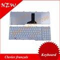French keyboard for Toshiba Satellite C650 C655 C655D C660 L650 L655 L670 L675 L750 L755 White FR Laptop Keyboard