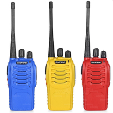4pcs Baofeng BF-888S Walkie Talkie 5W Handheld Pofung bf 888s UHF 5W 400-470MHz 16CH Two Way Portable CB Radio