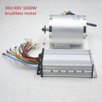 Kit de motor e-scooter 1000W 36V 48V Motor eléctrico sin escobillas DC con controlador para e-scooter/bicicleta eléctrica/Triciclo/ebike