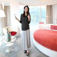Удобное материнство весной летом корейский юбки беременных платье размер брюки женщин