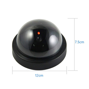 Image 5 - 2 PCS High Quality Dome Mini Cameras Dummy Camera CCTV Flash Blinking LED Video Surveillance Home Office Safety Camera