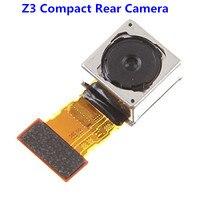 1PCS Original For Sony Xperia Z3 Compact Mini D5803 D5833 Rear Camera Back Main Big Camera
