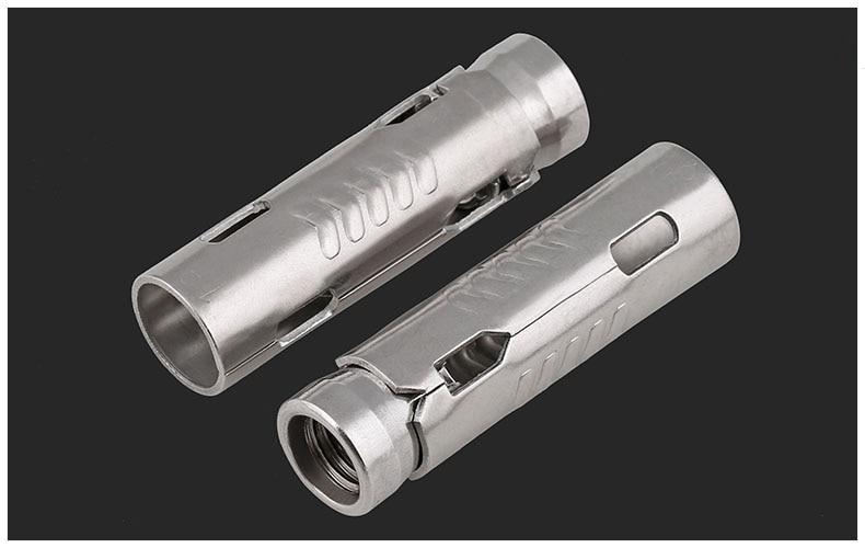 1pcs four 304 M6M8M10M12 Stainless Steel Three-Piece Four-Piece Expansion Pipe Bolt M10