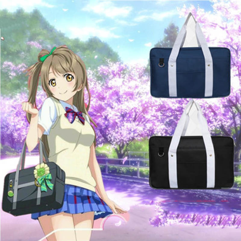 Japan Preppy Style School Bag Cartoon Love Live Cos Shoulder Bags Students Casual Oxford Handbag белая сорочка и стринги palmira xxl 3xl