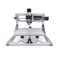 2418 CNC Engraver Machine 3 Axis PCB Milling Engraver Mini DIY Wood Carving Router Machine 2418 With GRBL Control ER11 Spindle