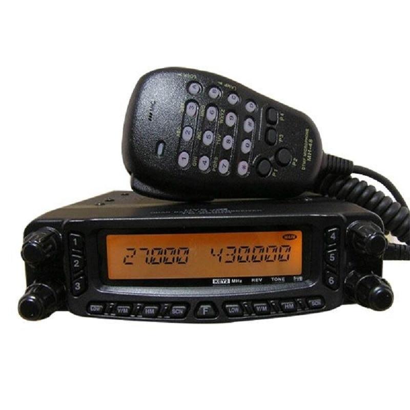 HYS Noir Quadri-Bande HF/VHF/UHF Air Bande Moible Du Véhicule Émetteur-Récepteur Radio TC-9900