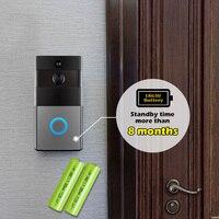 Golden Security WiFi Door Bell Video Intercom Doorbell 720P HD Alarm Security Camera Night Version Wireless
