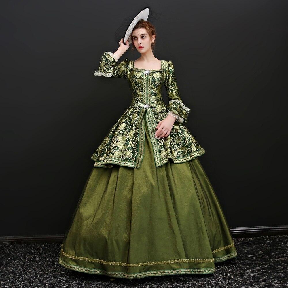 Cendrillon Alice Va Mlle Vêtements Spectacle Vêtements Art Test Frère Spécial Vent Jupe à l'ancienne Europe Vêtements