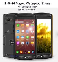 original IP68 4G Rugged phone waterproof cell phones Qualcomm MSM8226 Android 4.4 Gorilla glass 3 4g lte phone 2G RAM 13MP 5S