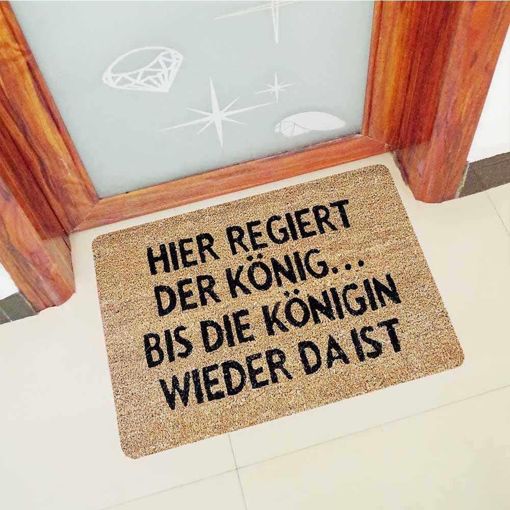 60 90cm Rubber Kitchen Rugs Hallway Mats German Languages Letters