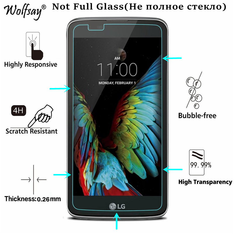 2PC For Glass LG K10 Tempered Glass For LG K10 Screen Protector For LG K10 Lte Protective Film For LG K10 2016 K420N K430DS 5.3