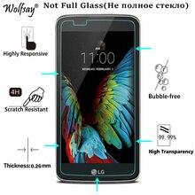 "2PC עבור זכוכית LG K10 מזג זכוכית עבור LG K10 מסך מגן עבור LG K10 Lte מגן סרט עבור LG K10 2016 K420N K430DS 5.3"""