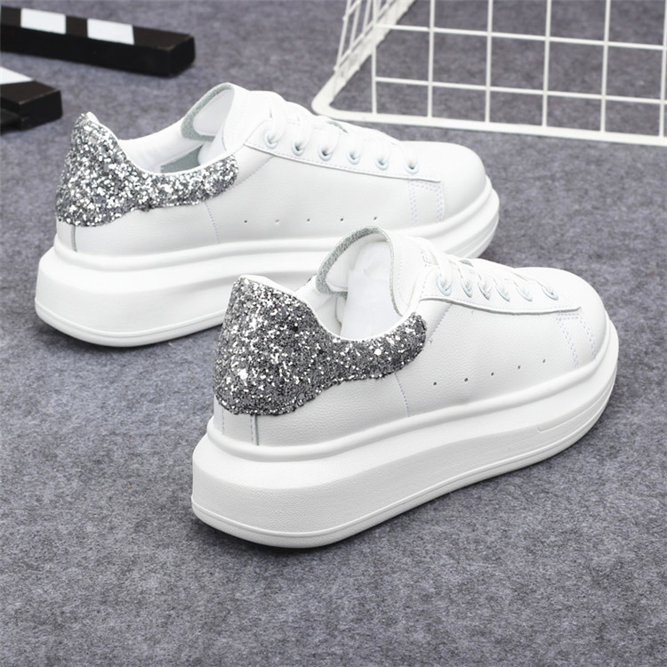 New Fashion Vulcanize Shoes Trainers Women Sneakers Casual Shoes Basket Femme PU Leather Tenis Feminino Zapatos Mujer Plataforma 65