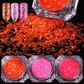 1 Box Hexagon Glitter Paillette Ultra-thin Sequins Manicure Nail Art Decoration 1-6