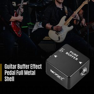 Image 5 - MOSKY PURE BUFFER pedale per chitarra Buffer pedale effetto chitarra Full Metal Shell parti e accessori per chitarra