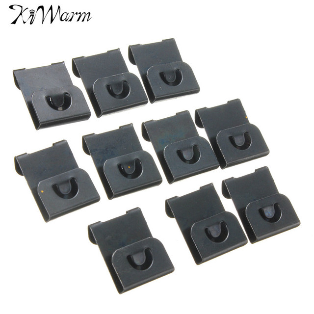 10pcs Metal Clip Over Hangers Hanging Board For Picture Photo Frames