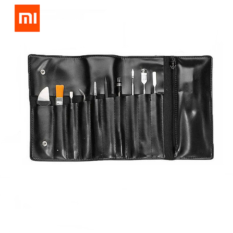 Xiaomi Wowstick Electric Screwdriver Accessorie Toolkit Clean Brush/Tweezers/Anti-static Bracelet/Vientiane Soft Rod/Storage Bag