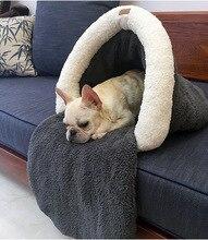2016 новый осень зима собак pet cat спальный мешок doggy теплый мягкие домашние продукты поставки собаки кошки щенок питомники диван S L