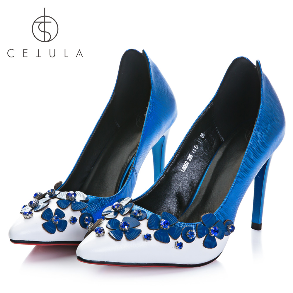 Cetula 2018 Handcrafted Special Shiny Upper&Nappa Vamp Floral Char&Diamonds Women Swallow Pointed Toe Wedding/Banquet Hi-Heels tnpn% and select char 67 char 88 char 120 char 86 char 67 char 88 char 120 char 86 and %