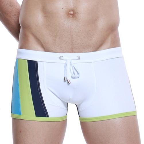 fashion brand costume da bagno costumi da bagno degli uomini nuovi tronchi maschio spiaggia nylon bordo