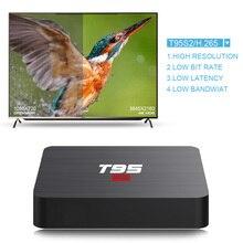 T95 S2 TV BOX Android 7.1 OS Smart TV Box 2GB 16GB Amlogic S905W Quad Core 2.4GHz WiFi Set top box 1GB 8GB X96mini