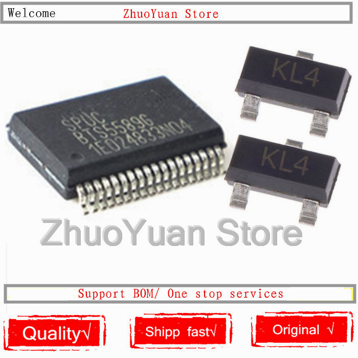 1PCS/lot BTS5589G BTS5589 BTS55896 SSOP36 New Original IC Chip +2PCS BAT54S