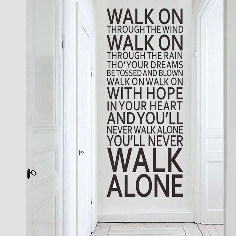 Lyric lyrics you ll never walk alone : Youll Never Walk Alone Sticker ✓ Kamos Sticker