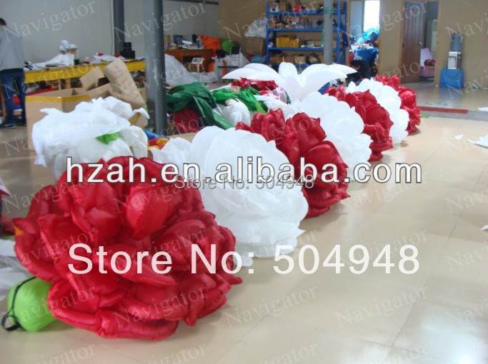 2014 Wedding Decoration Inflatable Flower 2017 new inflatable flower long wedding decoration flower