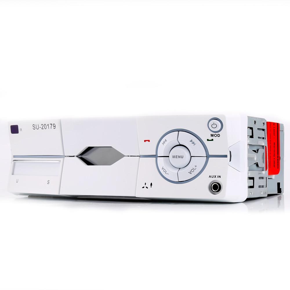 1 Дин радио MP3 плеер аудио стерео Bluetooth стерео радио 12 В fm AUX громкой связи вызов в тире Авторадио ...