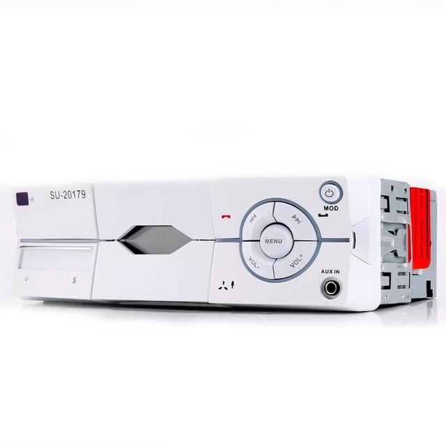 1 Дин Радио MP3-плееры Аудиомагнитолы автомобильные стерео Bluetooth стерео Радио 12 В fm AUX громкой связи вызов в тире авто радио