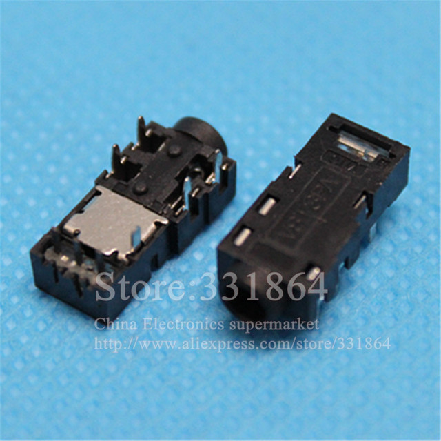 New 3.5mm Audio jack Headphone socket Connector For Packard Bell ...