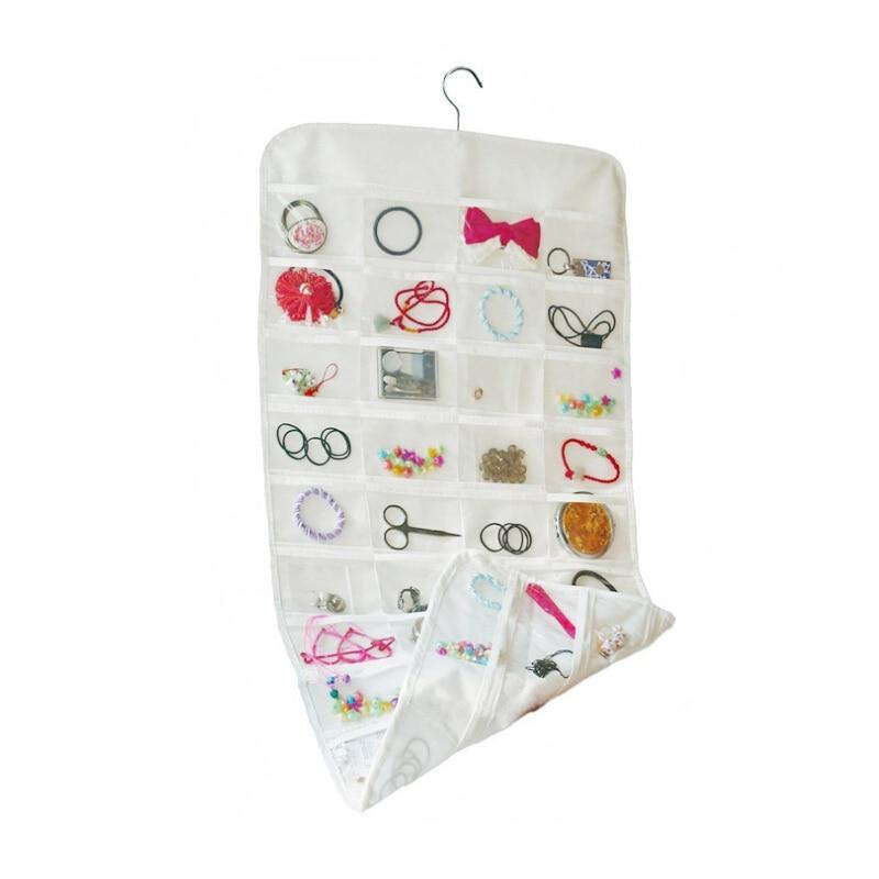 Кулон организаторы висит карман стены сумка для хранения двери шкафа ювелирные изделия шкаф вешалка держатель случае аксессуары поставок ...