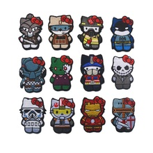 3D Embroidery armband Loop And Hook Cartoon characters patch GUN GIRL Tactical monkey Compass  STARWARS